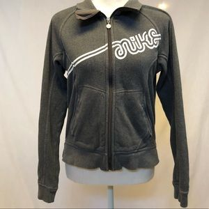 Nike zip up sweatshirt size medium